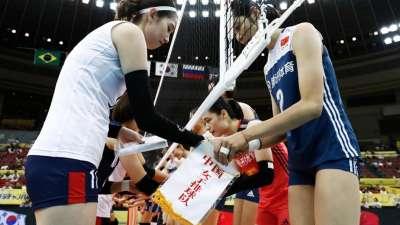 碾压!女排大冠军杯中国3-0横扫韩国取三连胜