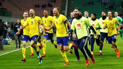 瑞典2018世界杯晋级之路 力压荷兰淘汰意大利