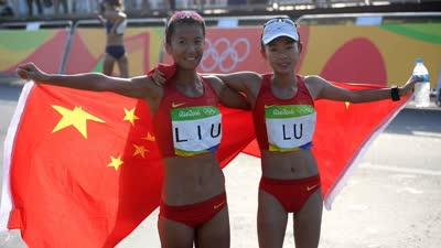 刘虹完成大满贯 时隔16年女子竞走重登奥运巅峰