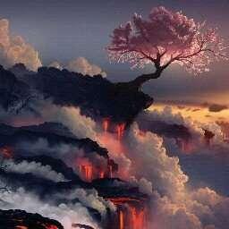 壁纸 风景 火山 桌面