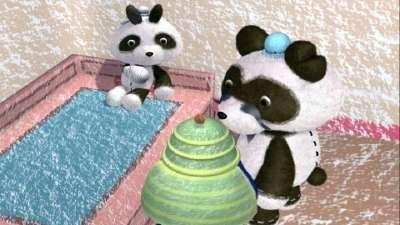巴布熊猫成语系列第一部47