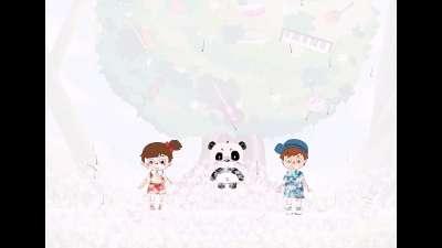 音乐熊猫故事第5集《蒲公英迷宫》