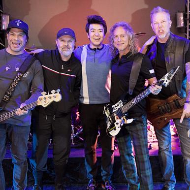 超清首播:郎朗助阵Metallica北京首演