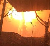 安徽铜陵一化工厂爆炸