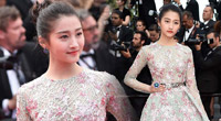 Guan Xiaotong's Cannes red carpet debut