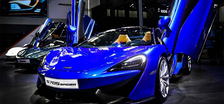 迈凯伦携全新570S Spider亮相广州车展