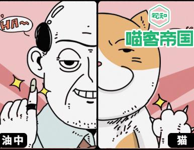 科学研究表明,猫与中年油腻男人相似度达到85%!