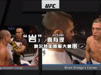 《岩直有理》第三期:UFC195 奥尔特加降服大解密