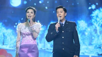 蔡国庆伊丽媛演唱《祝你平安》