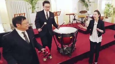 """家游好""""乐队""""倾情演奏 儿女""""易容术""""体验真情"""