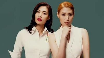 双胞胎姐妹的华丽转变 超模的职业风格改造