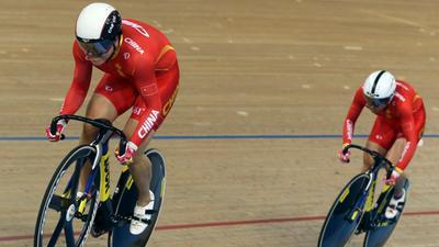 一分钟看懂奥运会场地赛:中国队最强夺金点团体竞速赛