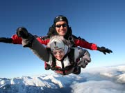翼装飞行感受跳伞的快感(Wingsuit flight 360 Feel the skydive thrill wit)