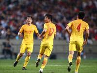【韩国3-2中国】于海蒿俊闵3分钟追两球