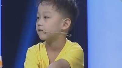 赵梓欢家庭获得梦想基金 欢欢自然萌看心情分左右