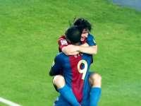 十年前西甲第二轮 梅西埃托奥破门黑天鹅巴萨百胜