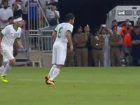 【沙特3-0阿联酋】谢赫里圆月弯刀破门