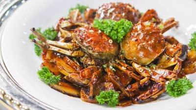 螃蟹不能吃的部位有哪些 浓油赤酱的年糕六月黄