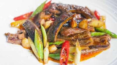蒜子焗黄鳝