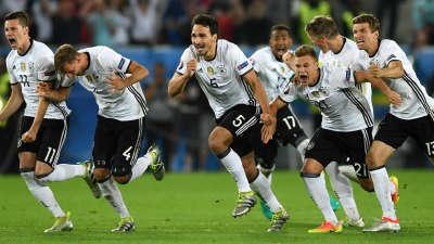 【经典比赛】16欧洲杯德国6-5法国 点球大战全程回顾