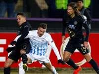 欧联-左路2飞翼破门 奥斯曼利体育2-0头名出线