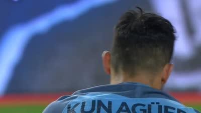鲁尼附体!席尔瓦插上送妙传 阿圭罗停球过大射门遭封堵