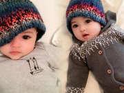 瑞典宝宝走红网络 出生自带美颜效果