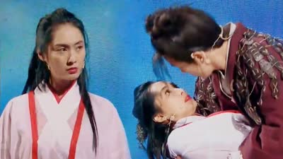 朱茵再扮紫霞仙子与薛之谦热吻