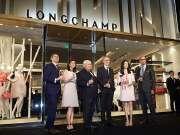 【乐尚播报】LONGCHAMP「珑骧」静安嘉里中心中国旗舰店盛大开幕