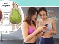 8周训练十一:女神丰乳肥臀竟自曝有身材缺陷