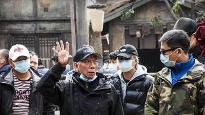 """《奇门遁甲》曝徐克袁和平""""双雄""""特辑"""