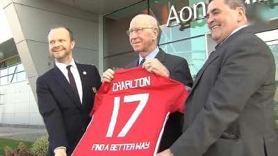 结合为爱而来!曼联宣布与查尔顿爵士排雷慈善组织合作