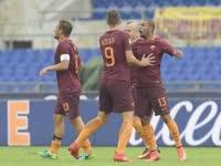 意甲-托蒂替补助攻补时点球绝杀 罗马3-2桑普