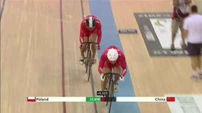 中国队憾负波兰队 波兰队进入铜牌争夺