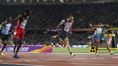 冷门!古利耶夫夺200米冠军 范尼凯克屈居第二
