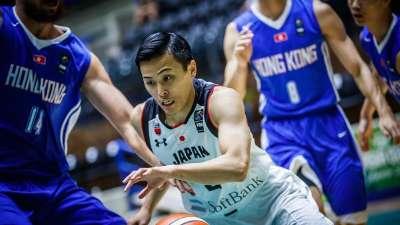 亚洲杯-江岛慎15分 中国香港59-92负日本小组出局