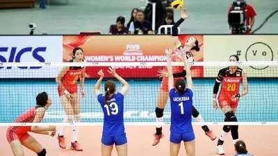 大冠军杯中国女排3-0俄罗斯豪取4连胜领跑积分榜