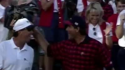总统杯时刻-1996年弗雷德卡普雷斯长推锁定胜利