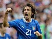 足球艺术家退役!回顾皮尔洛意大利国家队全部进球