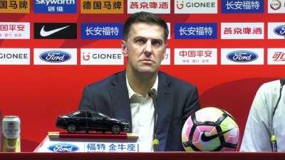 塞尔维亚主帅:很难说两国足球差距 我们已进世界杯