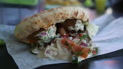 以色列美食勾起家乡味蕾 赏味特色美食Pita