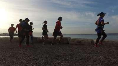 最美海岸线马拉松以色列站DAY2-跑团海边清爽晨练