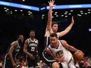 NBA-库里39+11克拉布25分 勇士118-111篮网