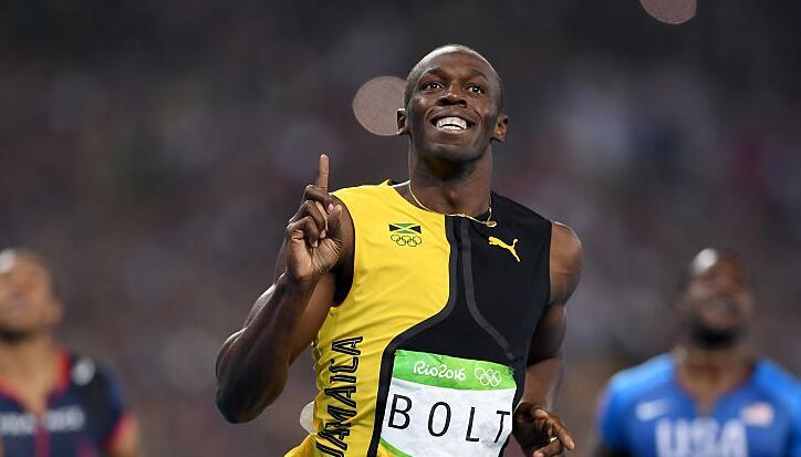 博尔特9秒81百米三连冠 加特林德格拉塞分列二三