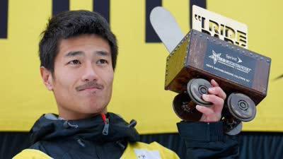亚冬会单板滑雪男子U型池 张义威飘雪中摘第11金