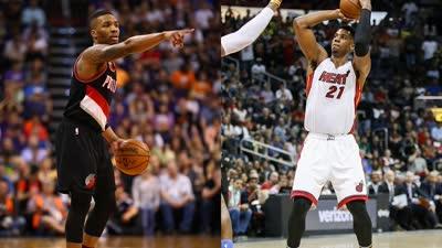 NBA周最佳:怀特塞德利拉德当选 詹皇库里获提名
