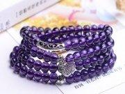 天然紫水晶手链
