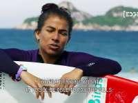 阿黛尔曲目回顾经历 女子冲浪手卖车卖房比赛