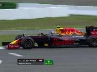 F1德国站FP1:维斯塔潘走大尘土飞扬