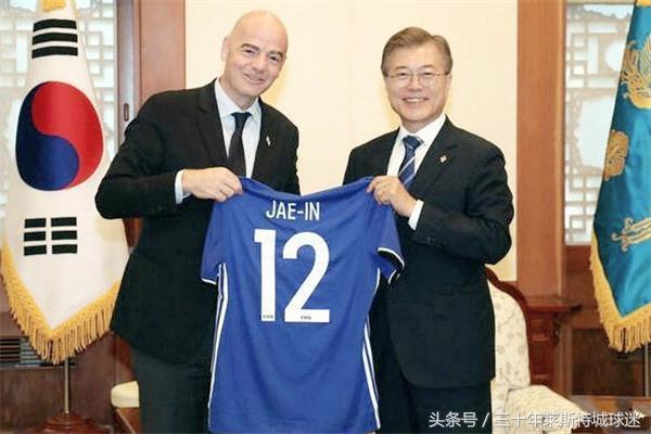 韩国人不放弃!请国际足联主席传话:想联合中国
